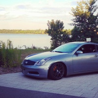Gray 2003 Infiniti G35 coupe on Gray ESM 004