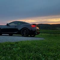 Black 2014 Subaru BRZ on Black Enkei Raijin