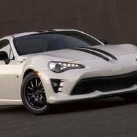 White 2017 Toyota GT86 on Gray 949 Racing 6UL